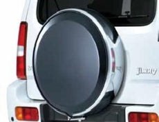 Suzuki Jimny Lockable Hard Spare Wheel Cover 2013-2018