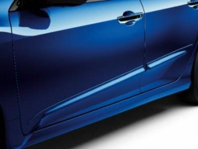 Honda Civic 4-door Bodyside Trims, Colour Coded