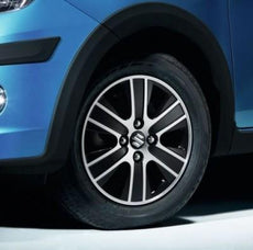 "Suzuki Celerio Alloy Wheel MARS 14"" Black/Polished Finish"