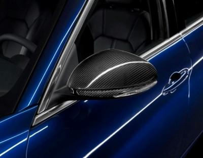 Alfa Romeo Giulia Mirror Covers, Carbon Fibre
