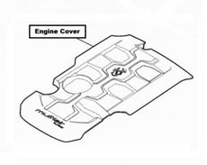 Abarth 124 Spider (6I) Engine Cover