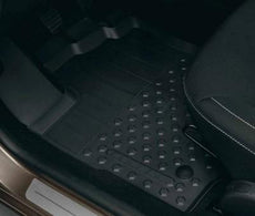 Dacia Sandero (PH2) Rubber Floor Mats, Raised Edge RHD