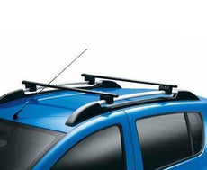 Dacia Sandero Stepway Roof Cross bars, Black Steel 2013-