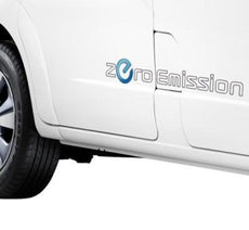 Nissan e-NV200 Zero Emission Sticker for light colour vehicles
