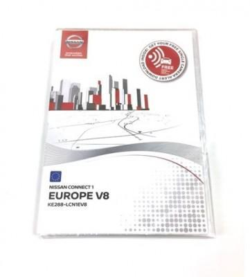 Nissan Connect 1 Europe V8 SD Card Map Update