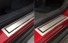 Mitsubishi Eclipse Cross Door Sill Entry Guards, Stainless Steel
