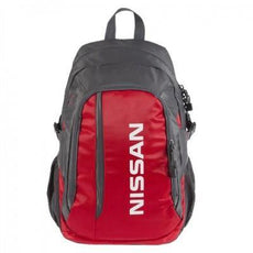 Nissan Backpack, Vibrant Red