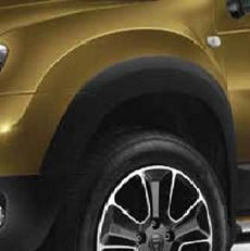 Dacia Duster Wheel Arch Mouldings 2010-