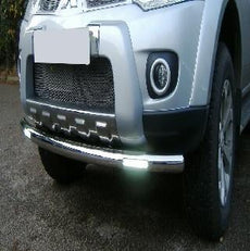 Mitsubishi L200 (S4) Front Styling Bar with DRL