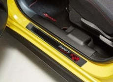 Suzuki Swift Sport Door Sill Set, Black with Logo