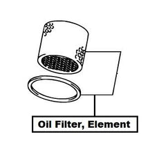 Suzuki SX4 S-Cross/Vitara Oil Filter, Element