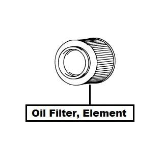 Suzuki Swift Oil Filter, Element (AZG413D)