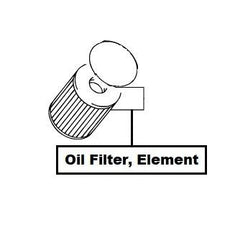 Suzuki SX4 Oil Filter, Element (RW416D)