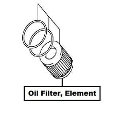 Suzuki SX4 Oil Filter, Element (RW419D)
