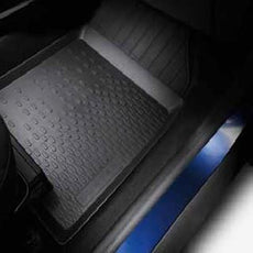 Dacia Duster 2 Rubber Floor Mats w/o seat drawer RHD