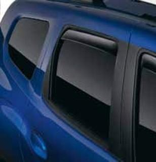 Dacia Duster 2 Air Deflectors, Rear
