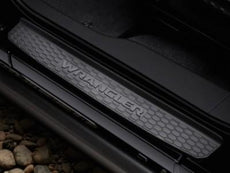 Jeep Wrangler (JL) Door Sill Guards, Plastic 4-Door