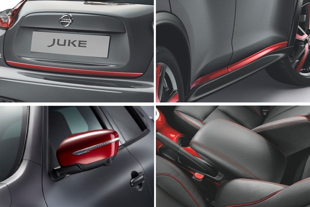 Nissan Juke Detroit Red 'Special Edition' Accessory Pack