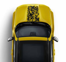 Jeep Renegade Hood Decal Camouflage