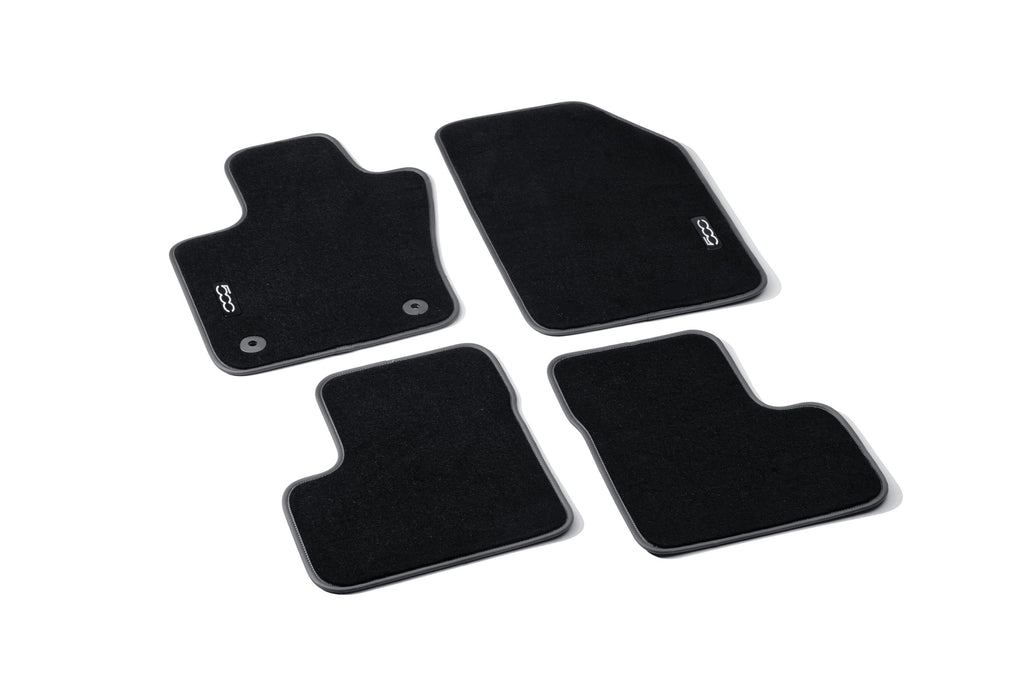 Fiat 500X Carpet Mat with 500 Logo RHD from VIN: ZFA3340000P766417