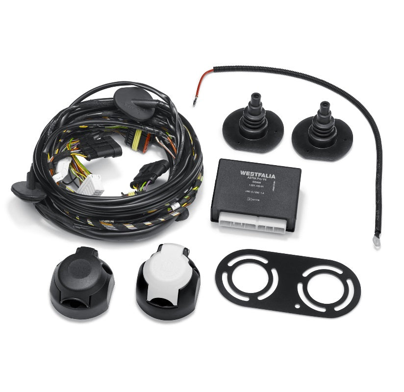 Fiat 13-PIN Wiring System - for Fixed Tow Bar