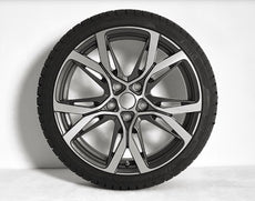"Alpine A110 Serac Alloy Wheel 18"" - Front"