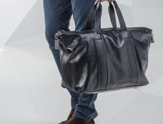 Alpine Weekender Leather Holdall