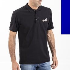 Alpine Black Men's Polo Shirt