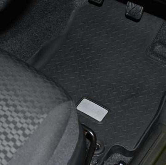 Suzuki Jimny Rubber Mat Set RHD AT