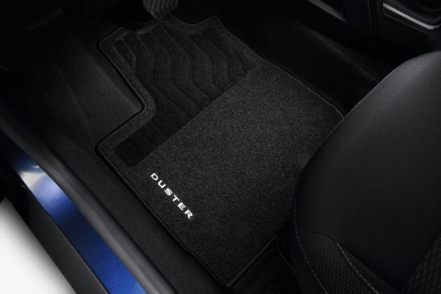 Dacia Duster 2 Comfort Textile Floor Mat with seat drawer RHD