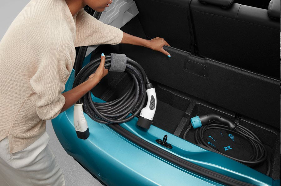 Renault ZOE Double Trunk Floor Compartment