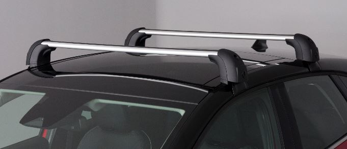 Renault Captur Quickfix Roof Bars - roof mounted