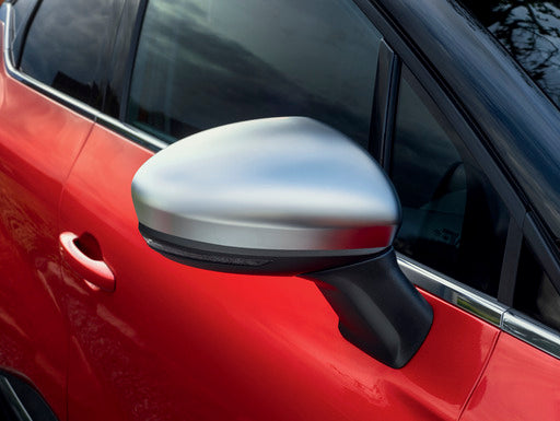 Renault Captur Door Mirror Covers, Satin Grey