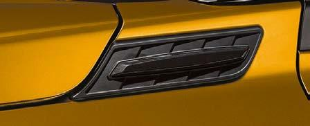 Suzuki Vitara Front Wing Garnish, Matte Black
