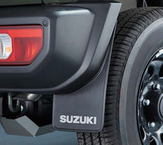 Suzuki Jimny Mudflap Set, Rear - Flexible Black