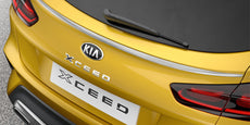 Kia XCeed (CDCUV) Tailgate Trim Line, Brushed Stainless Steel