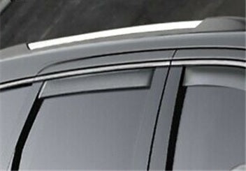 Jeep Grand Cherokee (WK2) Rear Window Deflectors, Tinted
