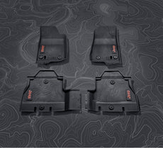 Jeep Wrangler (JL) Rubber Floor Mat Set, Set RHD 2-Door