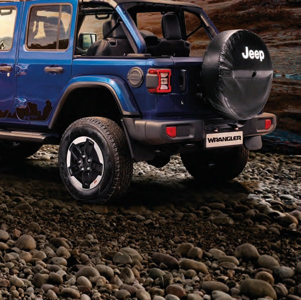 Jeep Wrangler (JL) Moulded Splash Guards, Rear