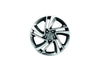 "Nissan Qashqai (J11E/B) 17"" Alloy Wheel Dark Grey, D-Cut Snow Flake"