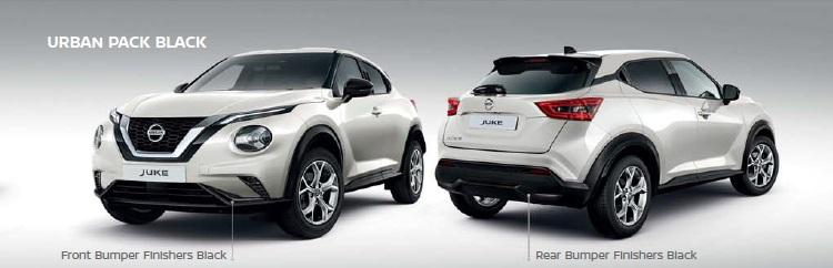 Nissan Juke (F16E) Urban Pack, Black