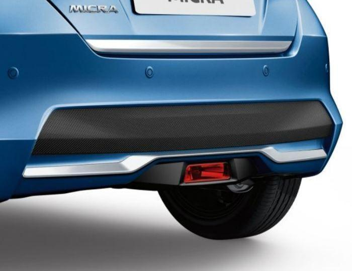 Nissan Micra (K14FR) Chrome, Rear Bumper Finisher