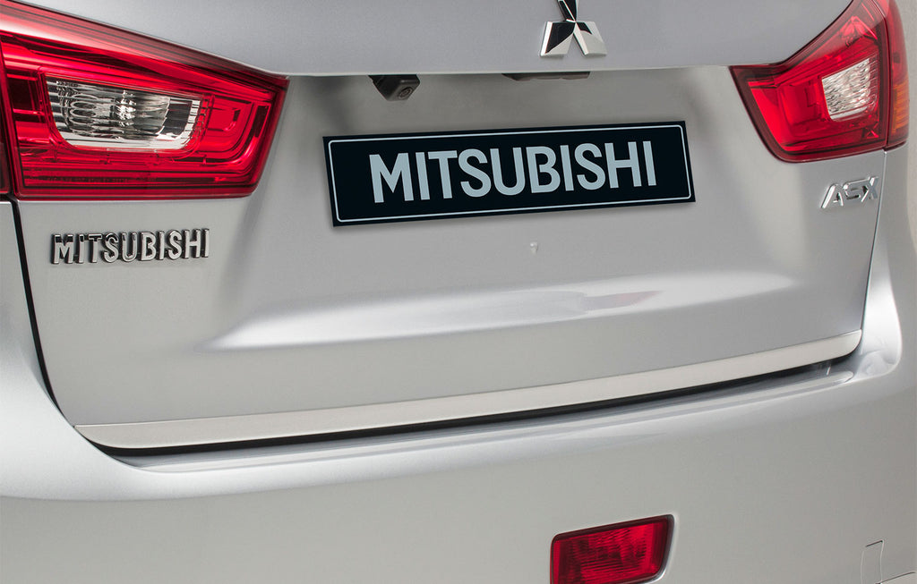Mitsubishi ASX Brushed Alloy Tailgate Garnish