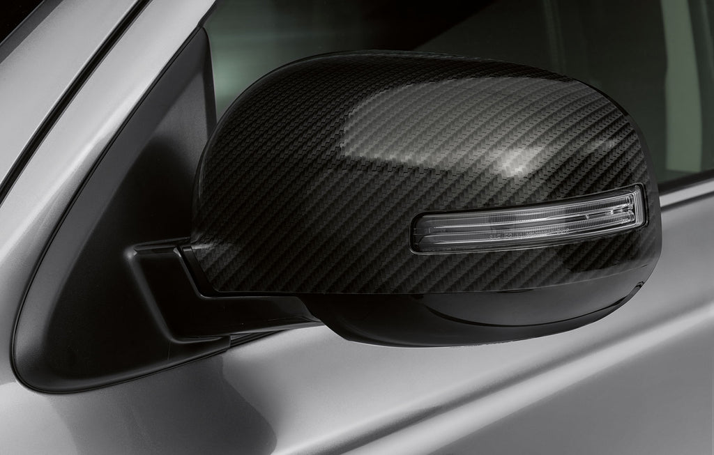 Mitsubishi ASX/Outlander Mirror Cover, Carbon
