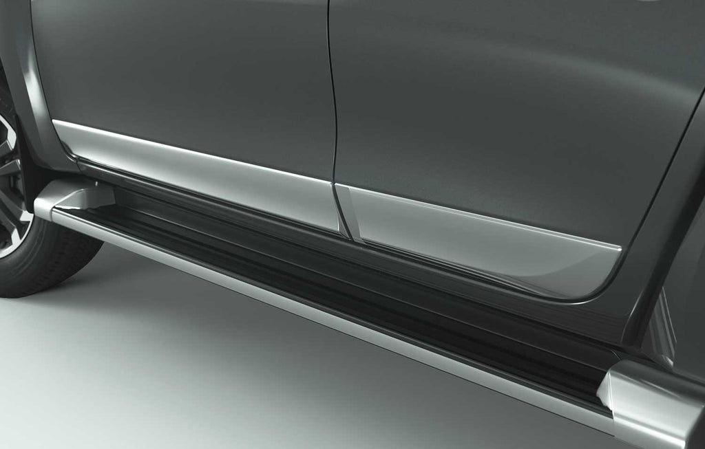 Mitsubishi L200 (S6) Side Door Mouldings, Chrome
