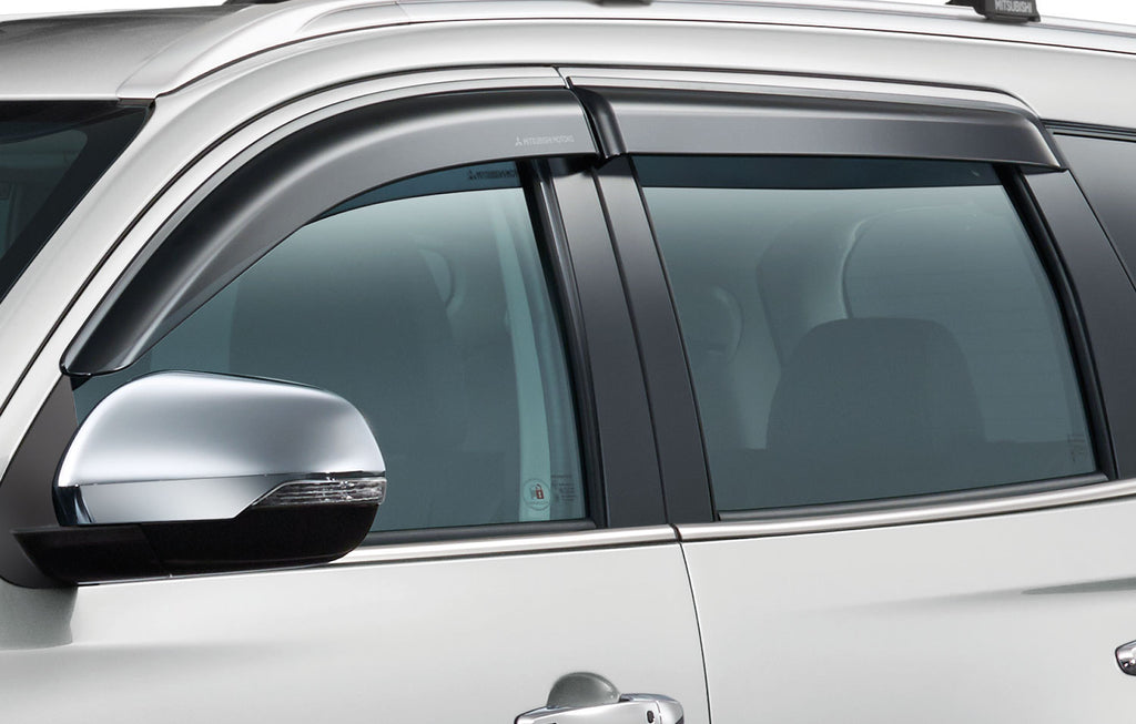 Mitsubishi Shogun Sport Wind Deflectors, Side (Front & Rear)