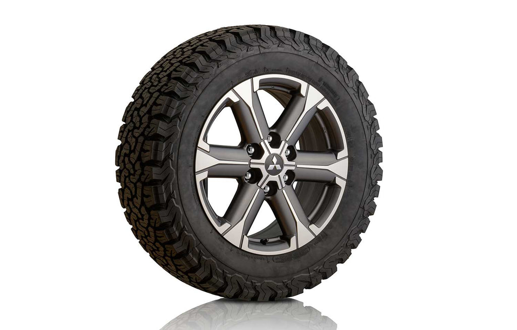 "Mitsubishi L200 (S6) Alloy Wheel 18"", Gunmetal Grey/Diamond-Cut"