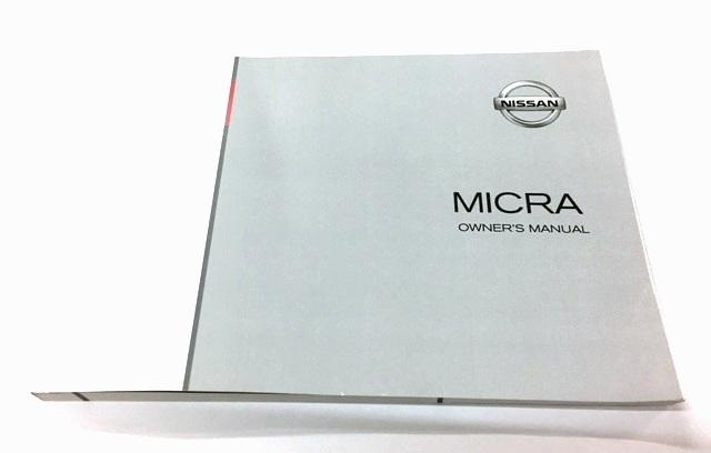 Nissan Micra (K13K) Owners Manual, English 2010-2016