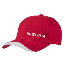 Nissan Baseball Cap, Red