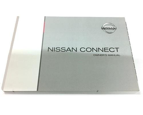 Nissan Connect 3 Owners Manual, English